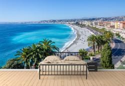 Fototapete, Vedere frumoasă a coastei mării