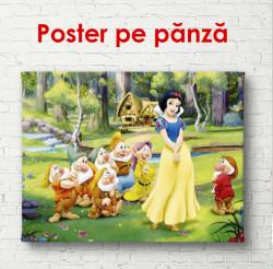 Poster, Alba ca zăpada și cei șapte pitici