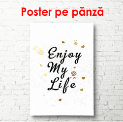 Poster, Bucură-te de viață