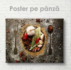 Poster, Condimente