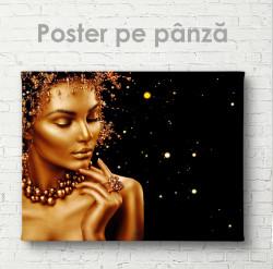 Poster, Doamna în aur
