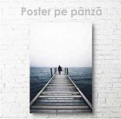 Poster, Drumul spre mare