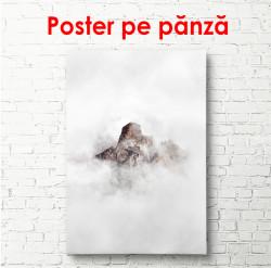 Poster,Munții printre nori
