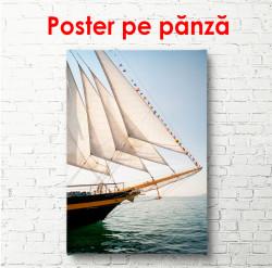 Poster, Navă în zori
