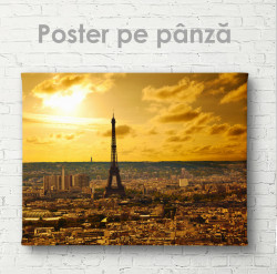 Poster, Parisul- vederea de sus
