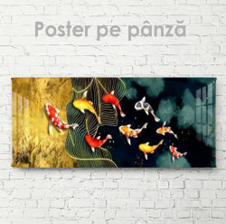 Poster, Pești colorați