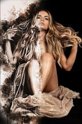 Poster, Portretul unei fete frumoase