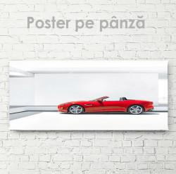 Poster, Roșu decapotabil