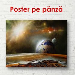 Poster, Spațiul maro