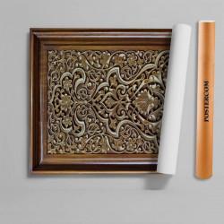 Stickere 3D pentru uși, Lada cu ornamente, 1 foaie de 80 x 200 cm