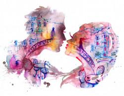 Tablou modular, Romantică