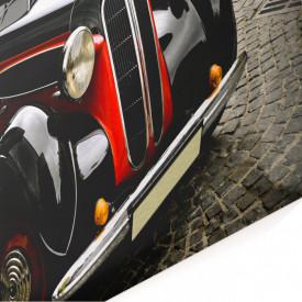 Tablou modular, Un automobil în stil retro.