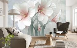 Fototapet, Flori delicate de aproape