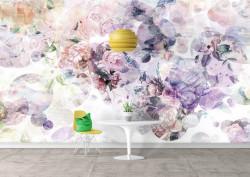 Fototapet, Flori multicolore