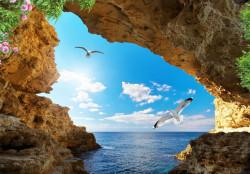 Fototapet Mare, Vedere frumoasă la mare