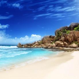 Fototapet, Plaja însorită