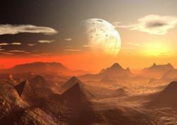 Fototapet, Planeta Marte