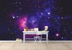 Fototapet, Taina spațiului cosmic