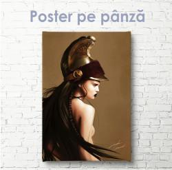 Poster, Fată cavaler