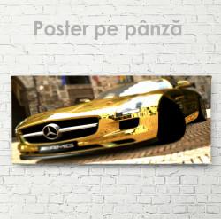 Poster, Mercedes de aur