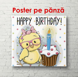 Poster, O zi de naștere fericită