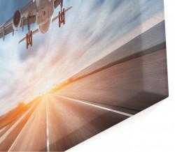 Tablou modular, Avionul pe cer.