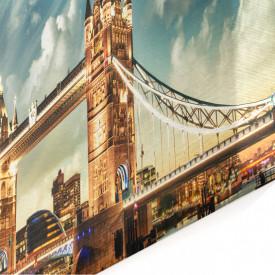 Tablou modular, Frumoasa Londra