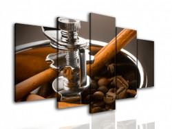 Tablou modular, Râșnița de cafea.
