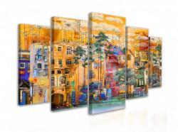 Tablou modular, Starea de spirit urbană