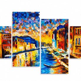 Tablou modular, Veneția luminoasă.