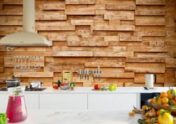 Fototapet Factura, Armonia din lemn