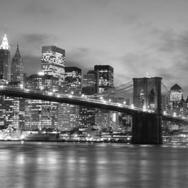 Fototapet, Luminițe alb-negru