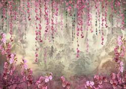 Fototapet, Pădurea fermecată cu flori violet