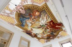 Fototapet Pentru Tavan, Plafonul pictat cu îngeri