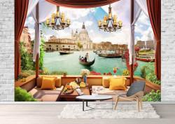 Fototapet, Priveliște din Veneția