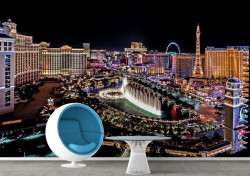 Fototapet, Vedere panoramică a Las Vegasului