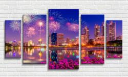 Multicanvas, Artificii în orașul de noapte