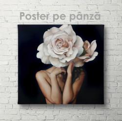 Poster, Artă a unei domnișoare