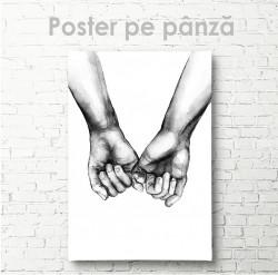 Poster, De mâini