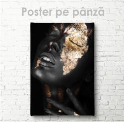 Poster, Fată cu aur
