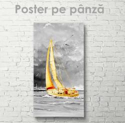 Poster, Iaht cu vele de aur