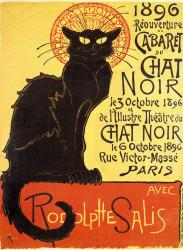 Poster, Pisica neagră