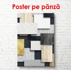 Poster, Plăci geometrice