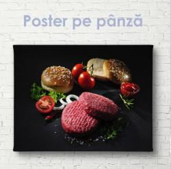 Poster, Set pentru burgeri