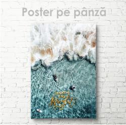 Poster, Surfing de plajă estetic