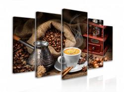 Tablou modular, Cafea cu condimente
