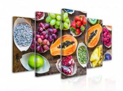 Tablou modular, Fructe exotice
