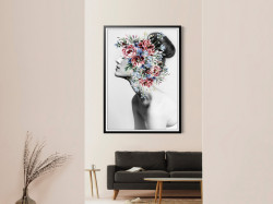 Tablou, O coroană de flori delicate