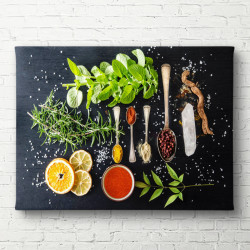 Tablouri Canvas, Ingrediente pentru mâncare