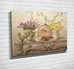 Tablouri Canvas, Oferta de viață pe masa